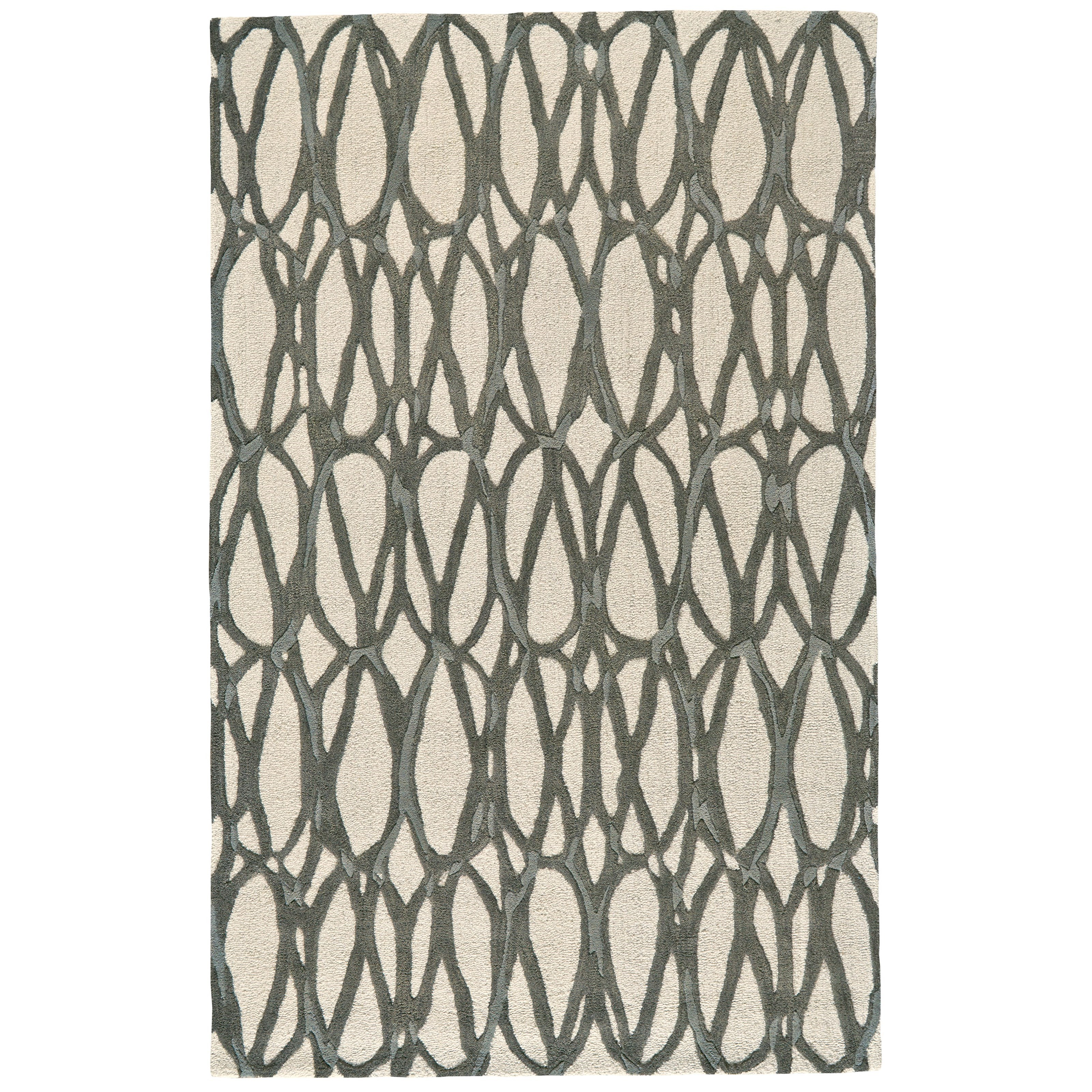 Ella Titanium 8' X 11' Area Rug by Feizy Rugs at Jacksonville Furniture Mart