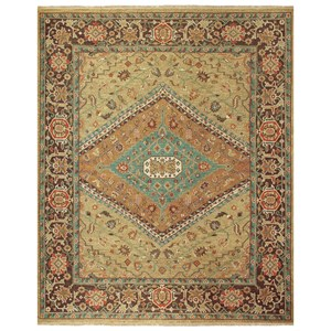 """Gold/Brown 8'-6"""" x 11'-6"""" Area Rug"""