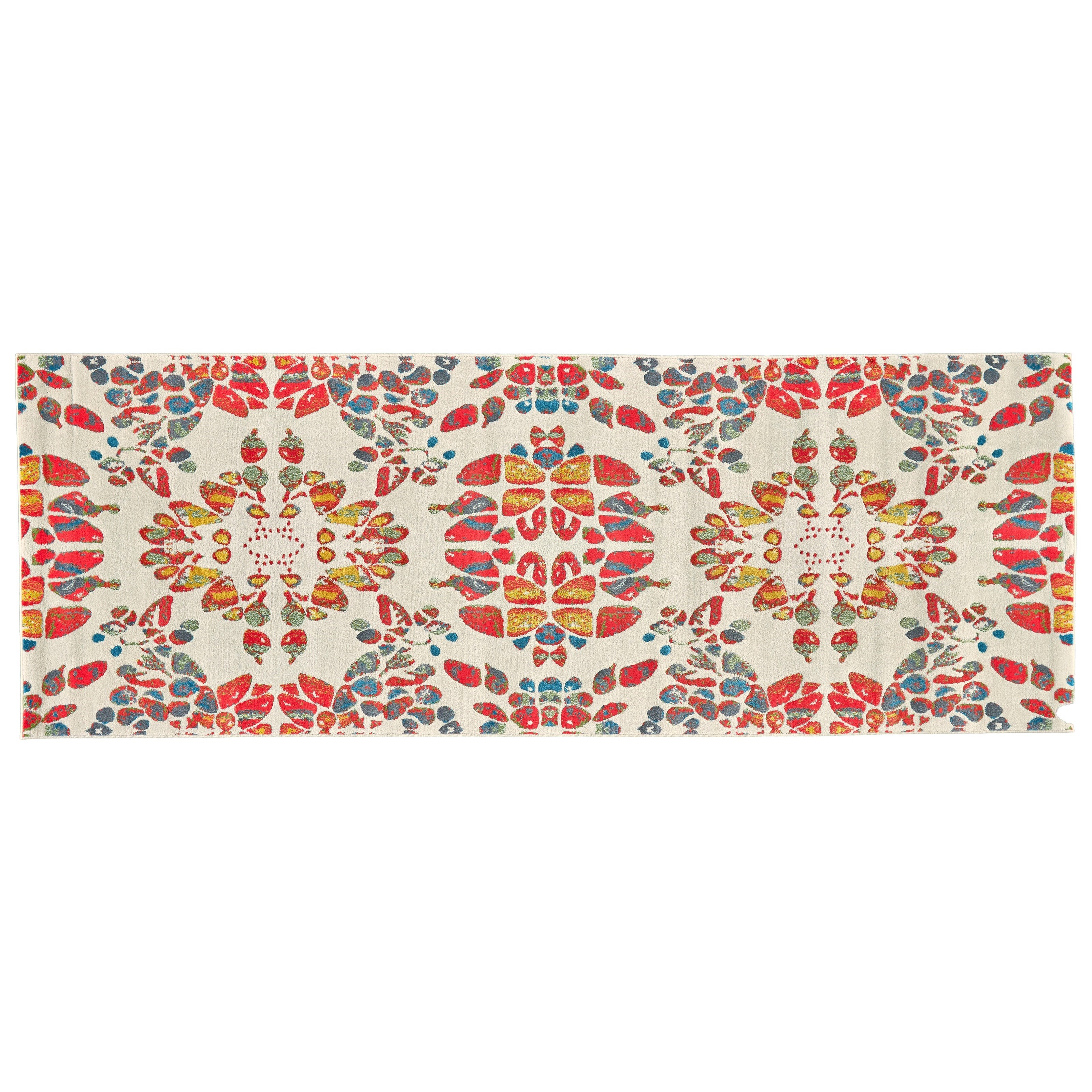 """Gustavia Melon 2'-10"""" X 7'-10"""" Runner Rug by Feizy Rugs at Sprintz Furniture"""