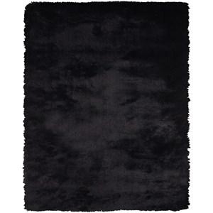 """Black 2' X 3'-4"""" Area Rug"""