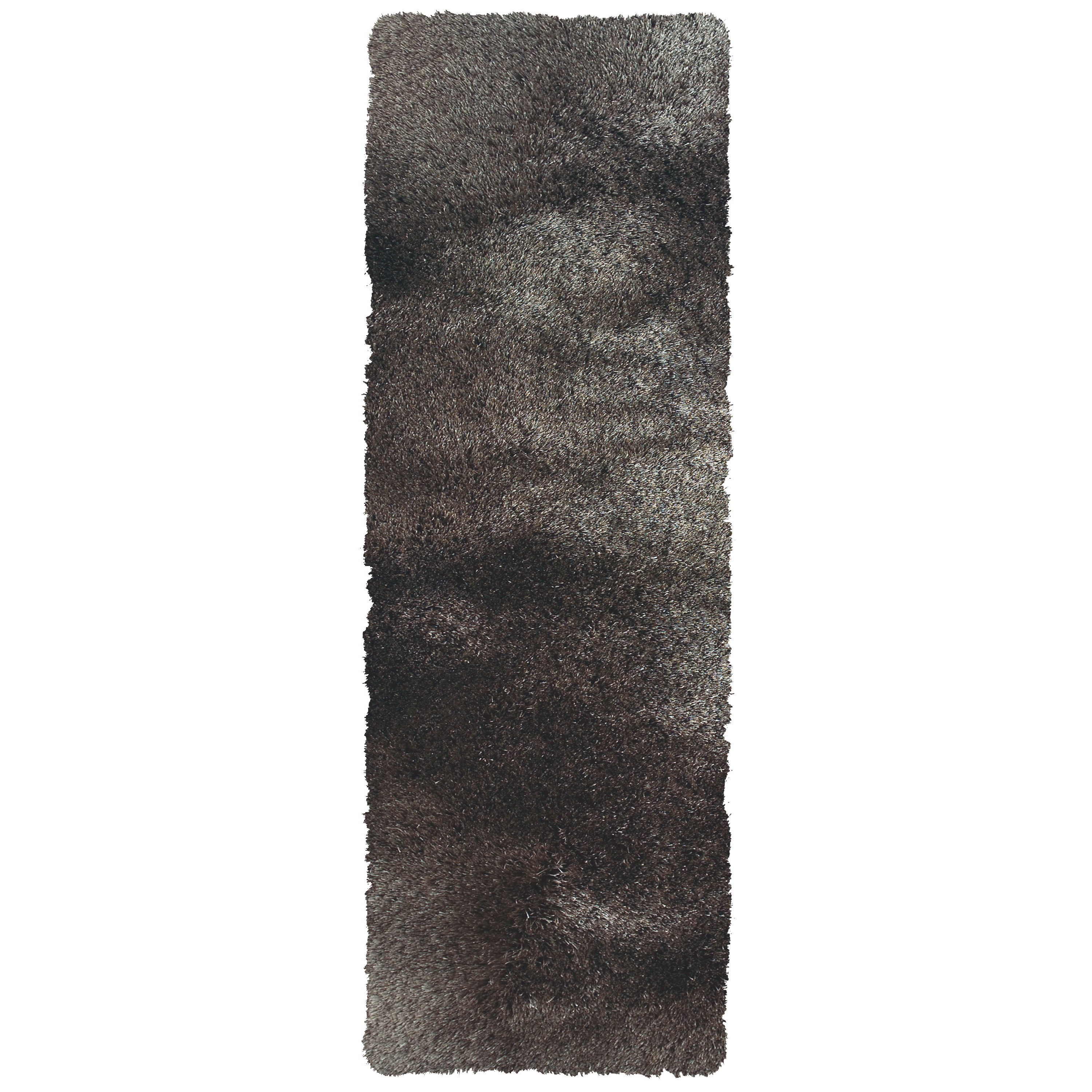 """Indochine Gray 2'-6"""" X 6' Runner Rug by Feizy Rugs at Jacksonville Furniture Mart"""