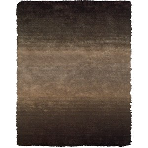 """Brown 7'-6"""" x 9'-6"""" Area Rug"""