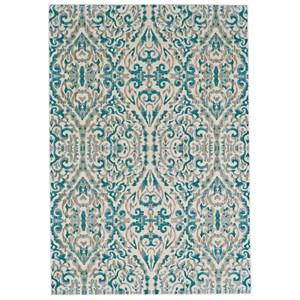 """Turquoise 7'-10"""" x 11' Area Rug"""