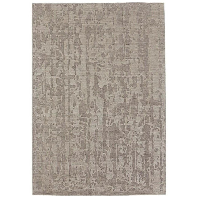 Leilani Taupe 4' x 6' Area Rug by Feizy Rugs at Sprintz Furniture