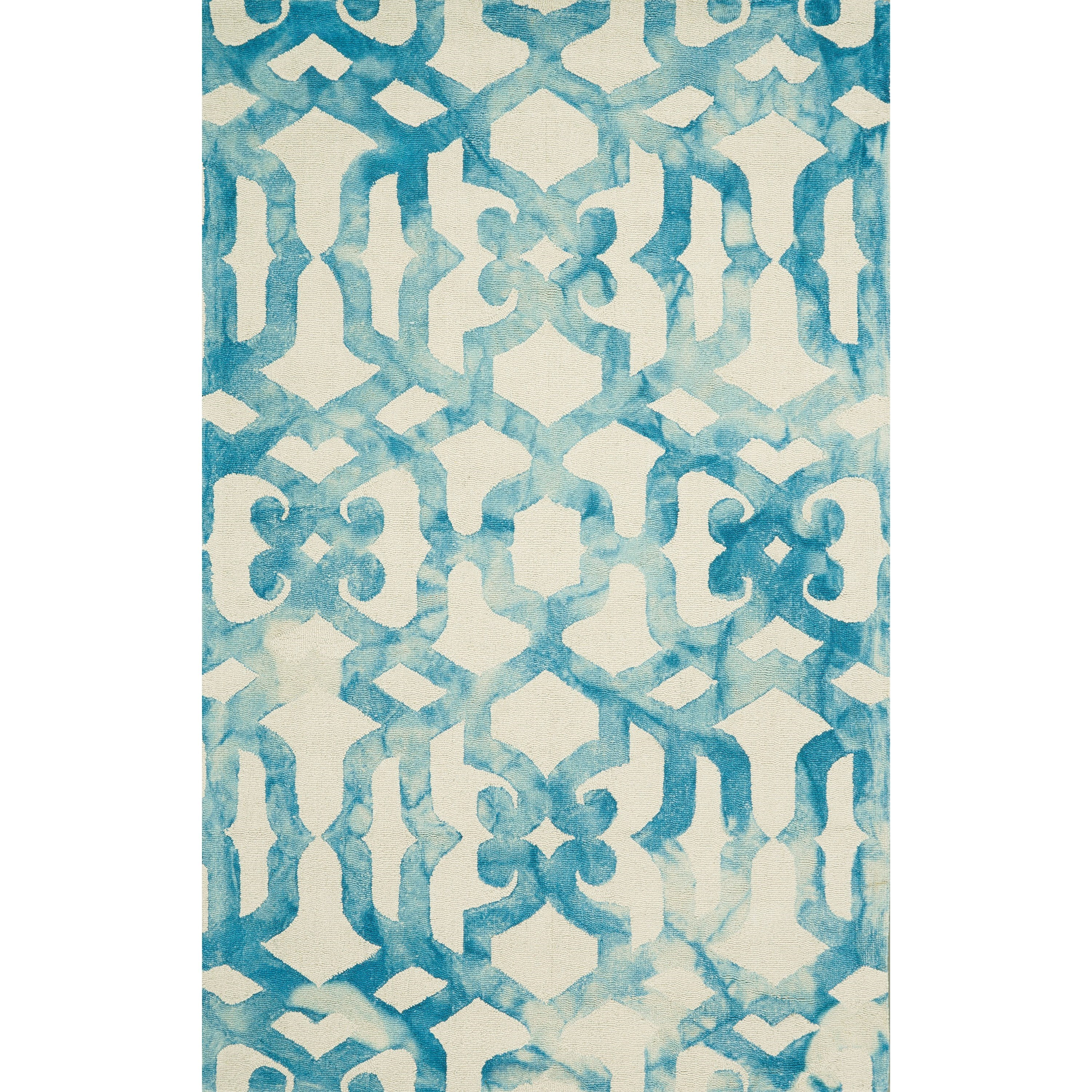 Lorrain Ocean 5' x 8' Area Rug by Feizy Rugs at Sprintz Furniture