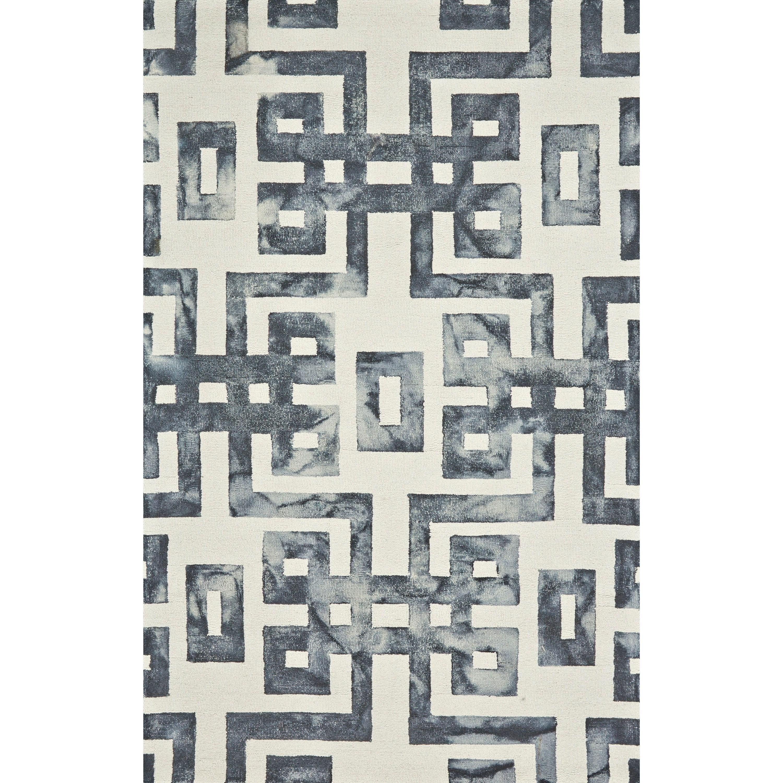 "Lorrain Noir 9'-6"" x 13'-6"" Area Rug by Feizy Rugs at Sprintz Furniture"