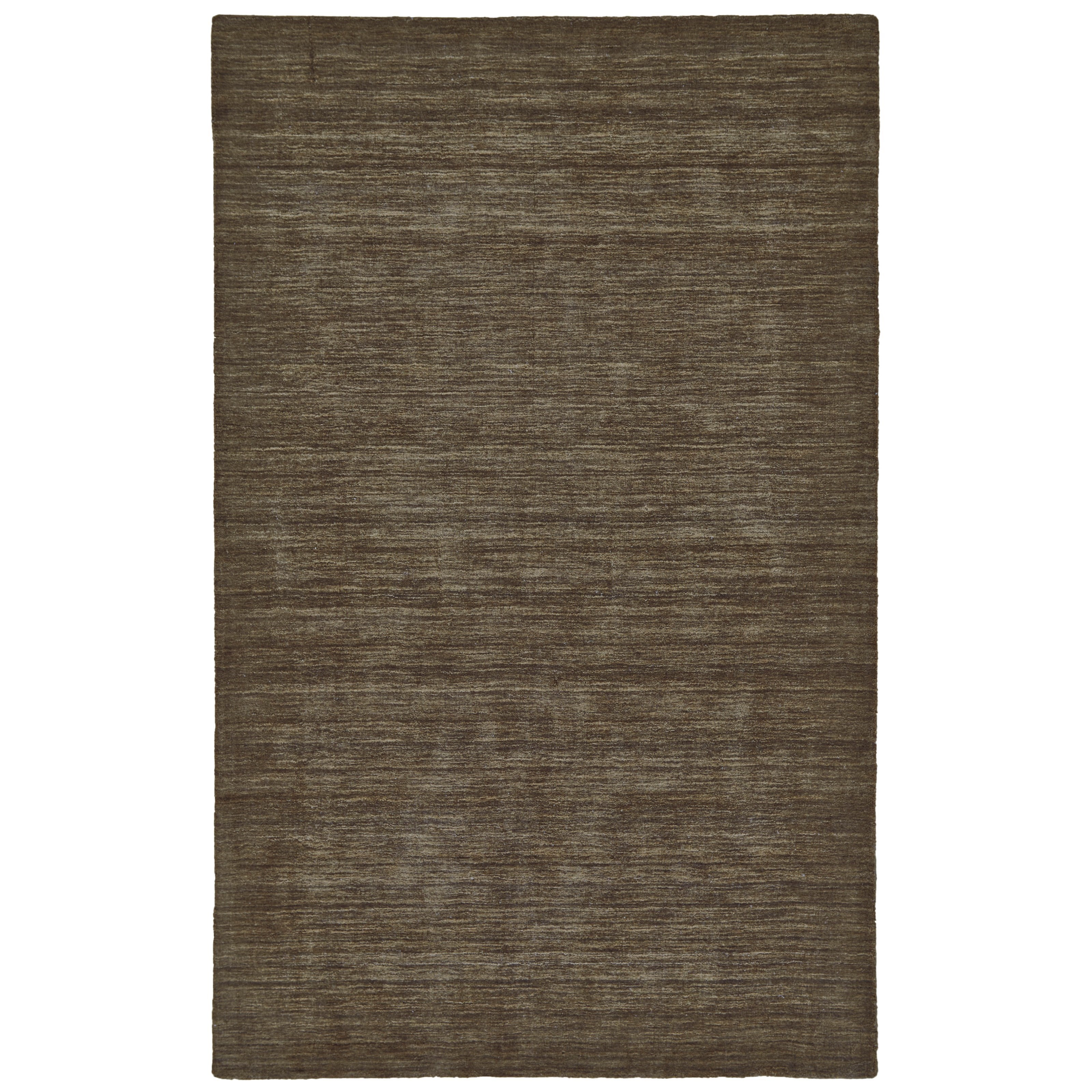 "Luna Brown 3'-6"" x 5'-6"" Area Rug by Feizy Rugs at Sprintz Furniture"