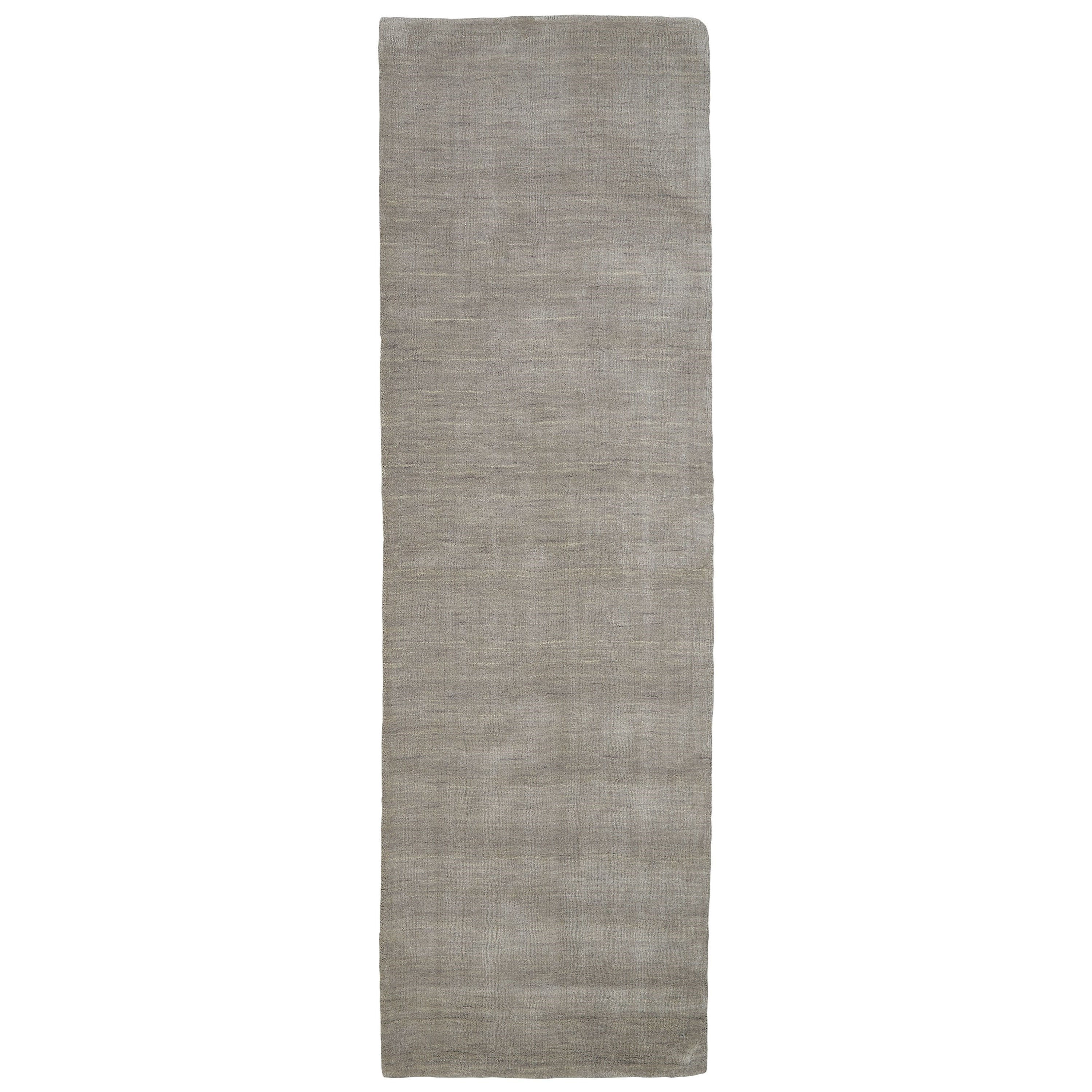 """Luna Light Gray 2'-6"""" x 8' Runner Rug by Feizy Rugs at Sprintz Furniture"""