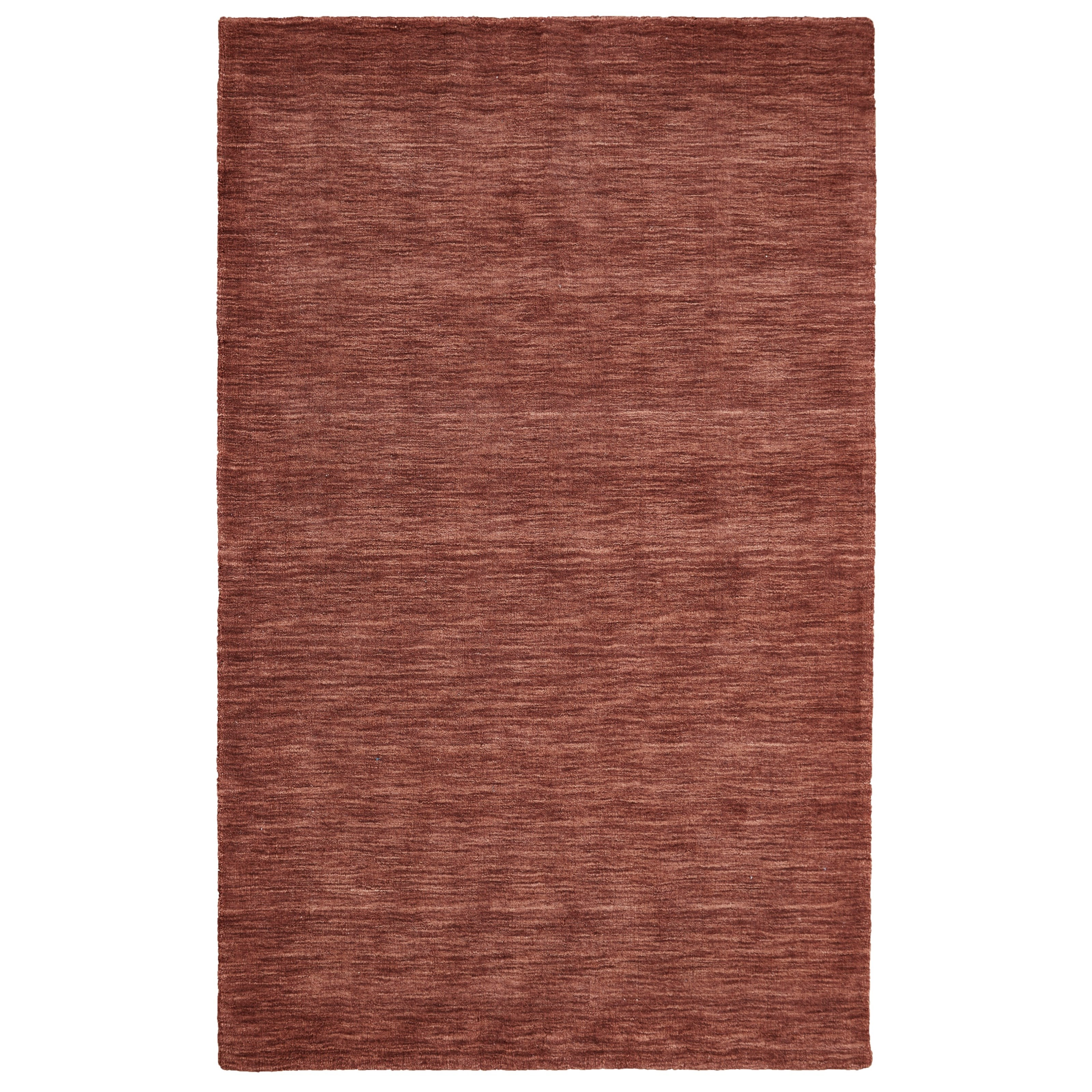 Luna Rust 5' x 8' Area Rug by Feizy Rugs at Jacksonville Furniture Mart