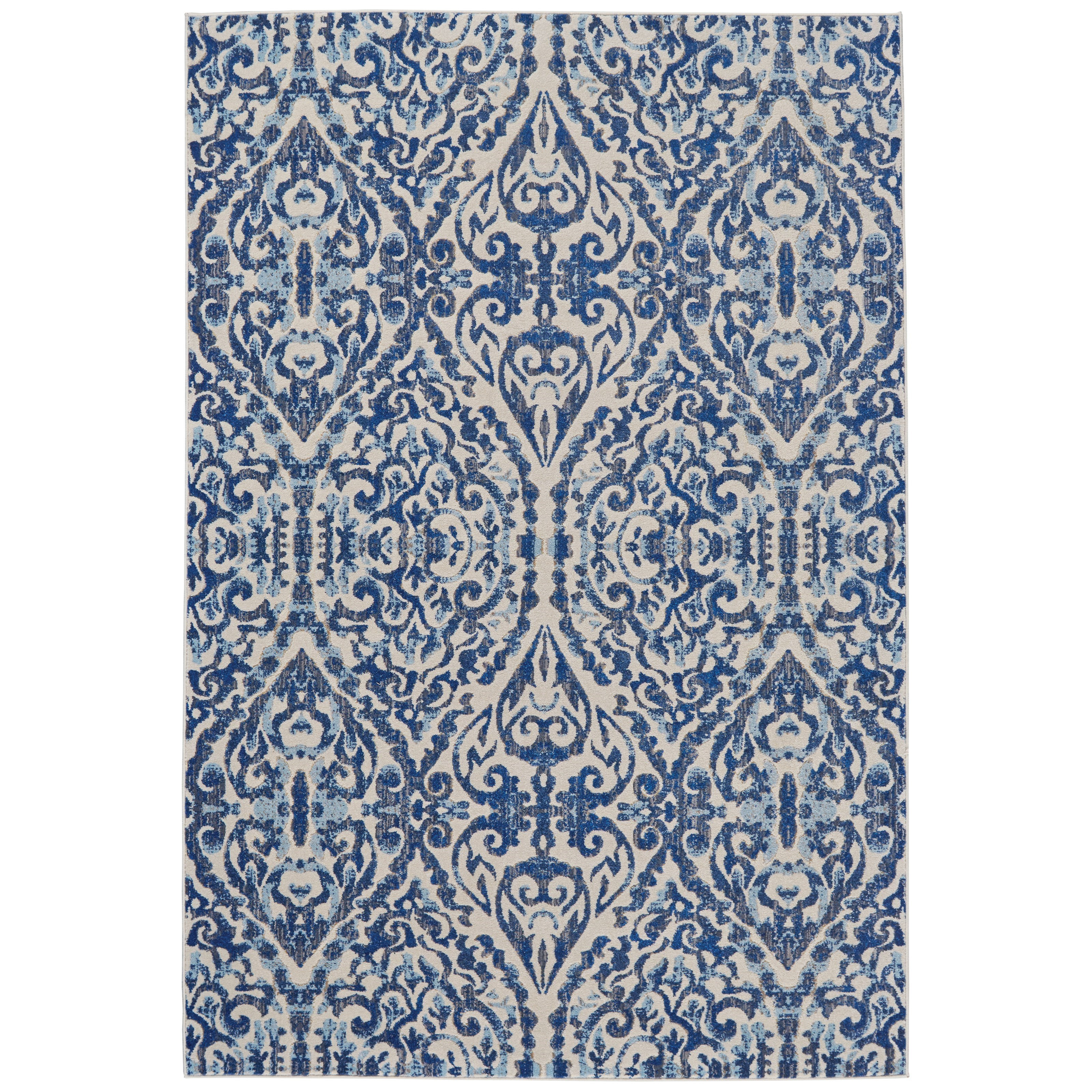 """Milton Royal 5'-3"""" X 7'-6"""" Area Rug by Feizy Rugs at Jacksonville Furniture Mart"""