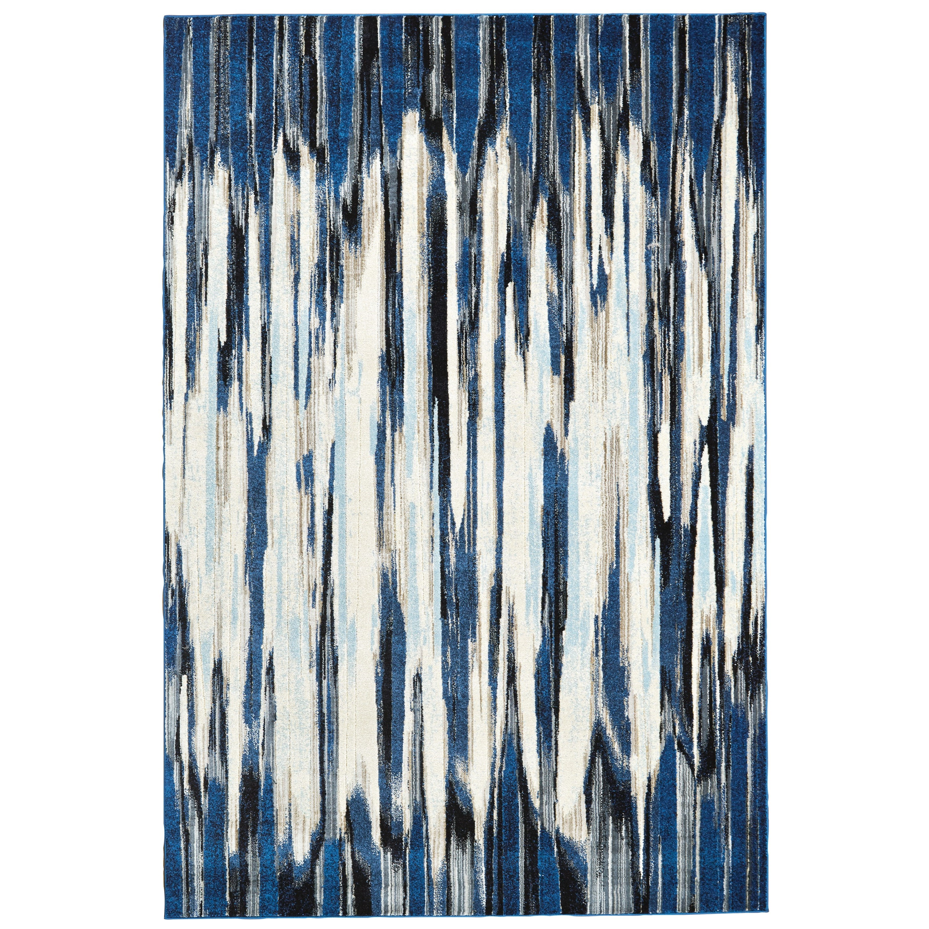 """Milton Indigo 7'-10"""" x 11' Area Rug by Feizy Rugs at Jacksonville Furniture Mart"""
