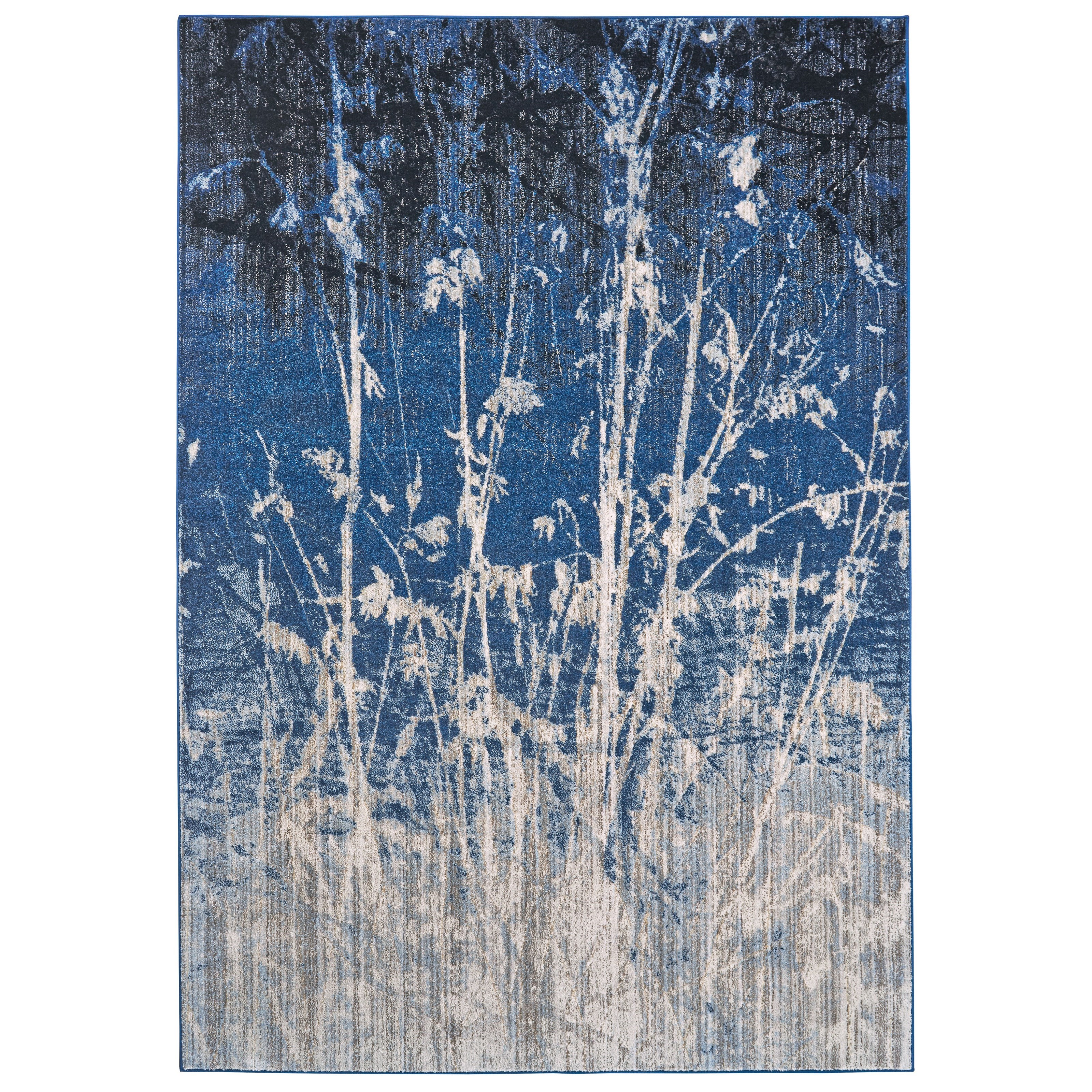"""Milton Atlantic 5'-3"""" X 7'-6"""" Area Rug by Feizy Rugs at Jacksonville Furniture Mart"""