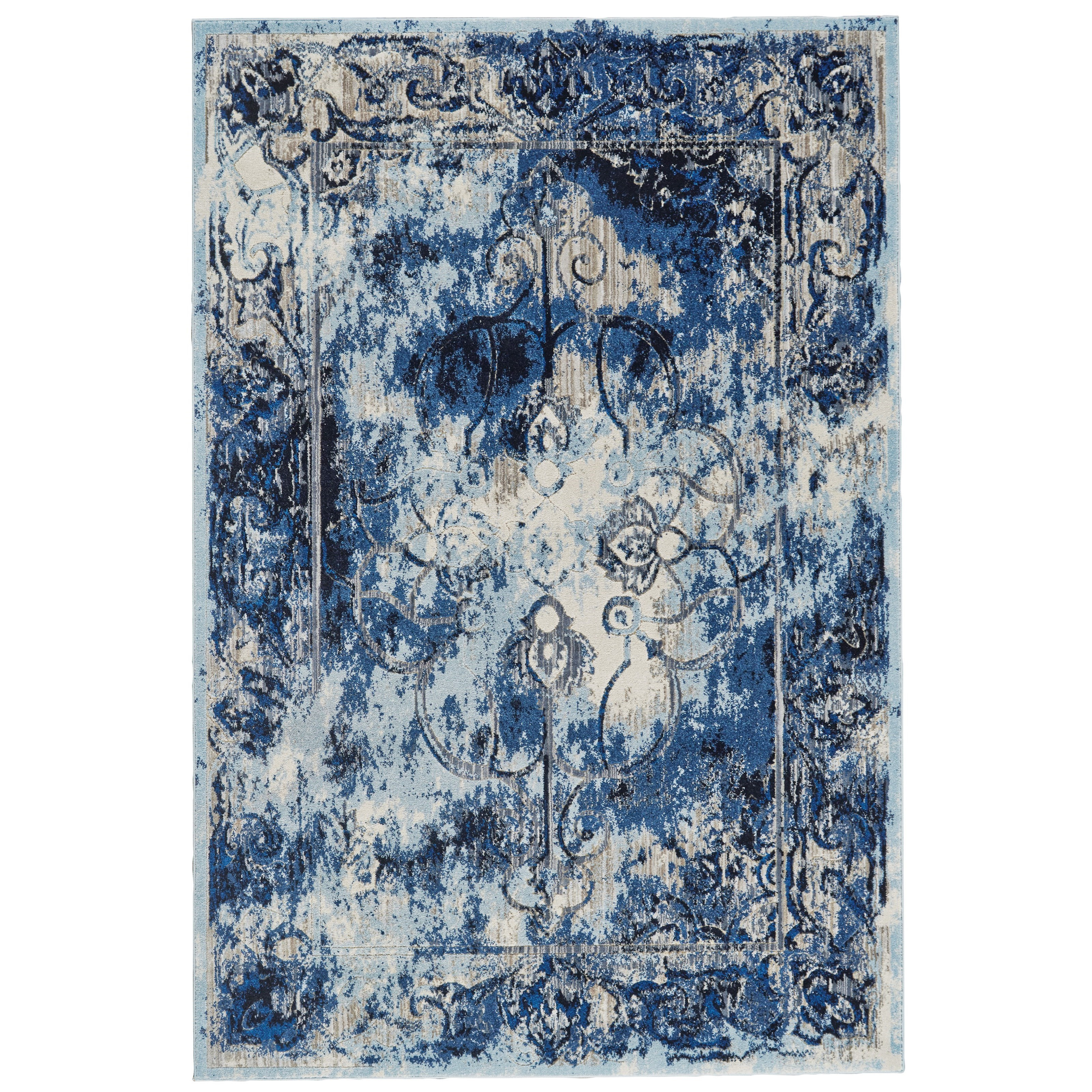"""Milton Thundercloud 7'-10"""" x 11' Area Rug by Feizy Rugs at Jacksonville Furniture Mart"""