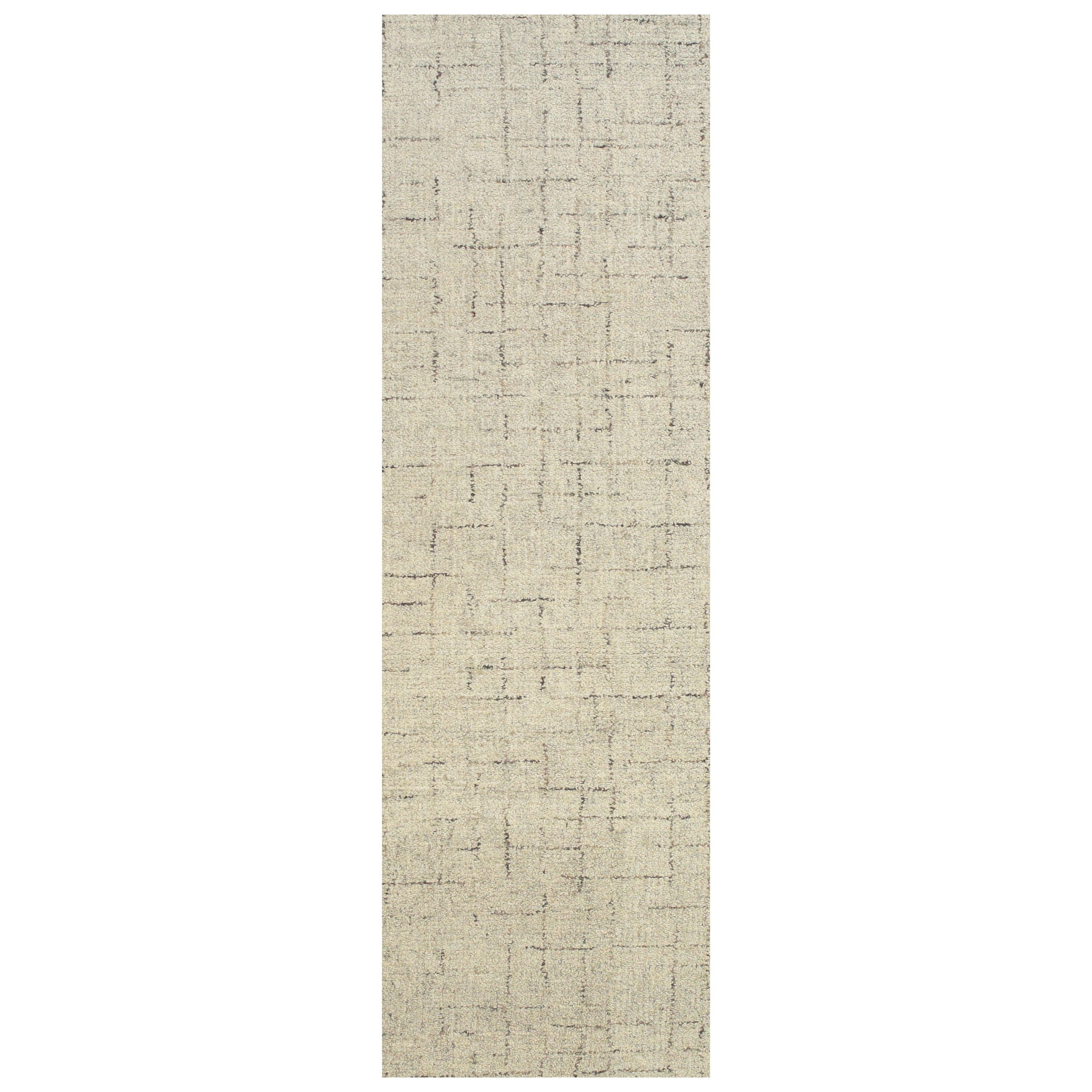 """Morisco Oatmeal 2'-6"""" x 8' Runner Rug by Feizy Rugs at Sprintz Furniture"""