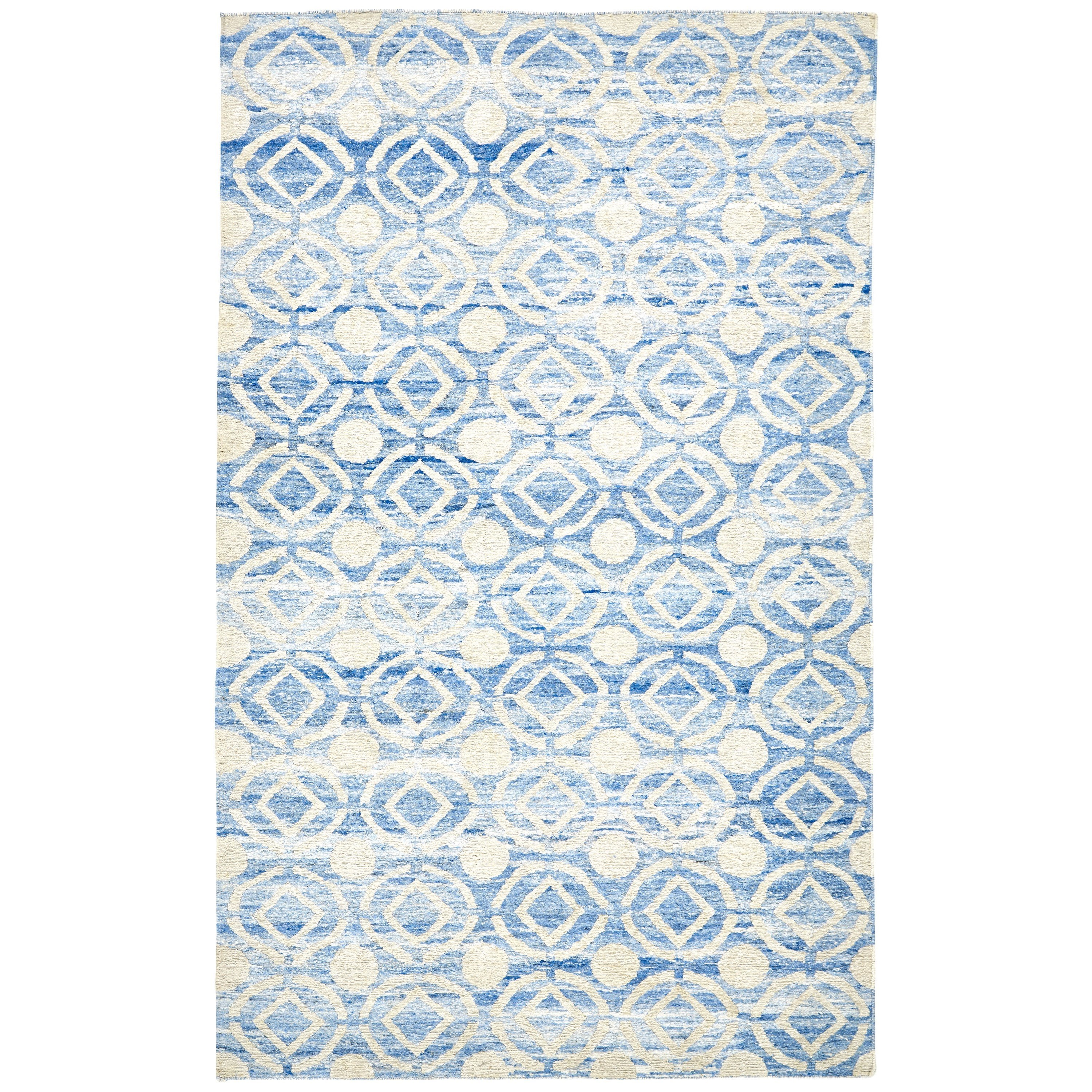 """Sabrine Ocean 8'-6"""" x 11'-6"""" Area Rug by Feizy Rugs at Jacksonville Furniture Mart"""