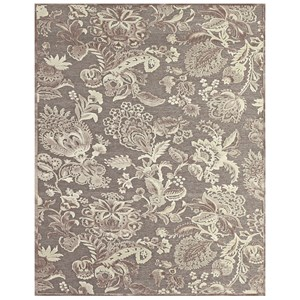 """Pewter/Gray 5'-3"""" X 7'-6"""" Area Rug"""