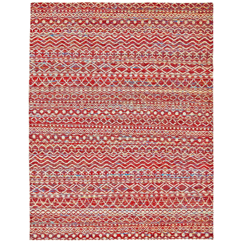 "Sattika Crimson 8'-6"" x 11'-6"" Area Rug by Feizy Rugs at Sprintz Furniture"