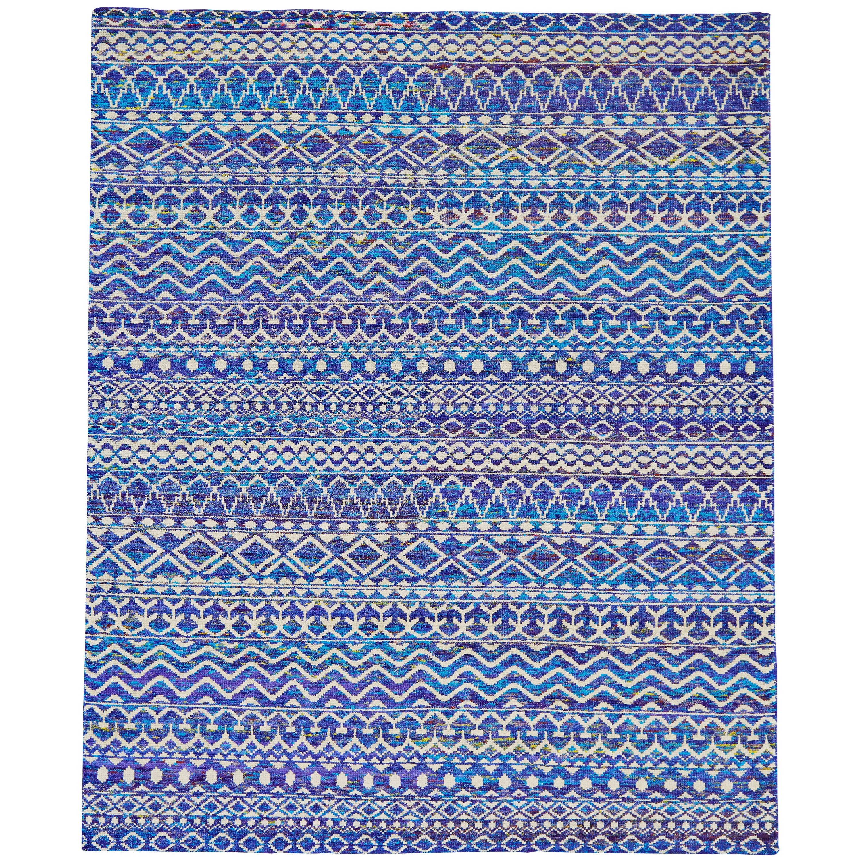 "Sattika Hydrangea 7'-9"" x 9'-9"" Area Rug by Feizy Rugs at Sprintz Furniture"