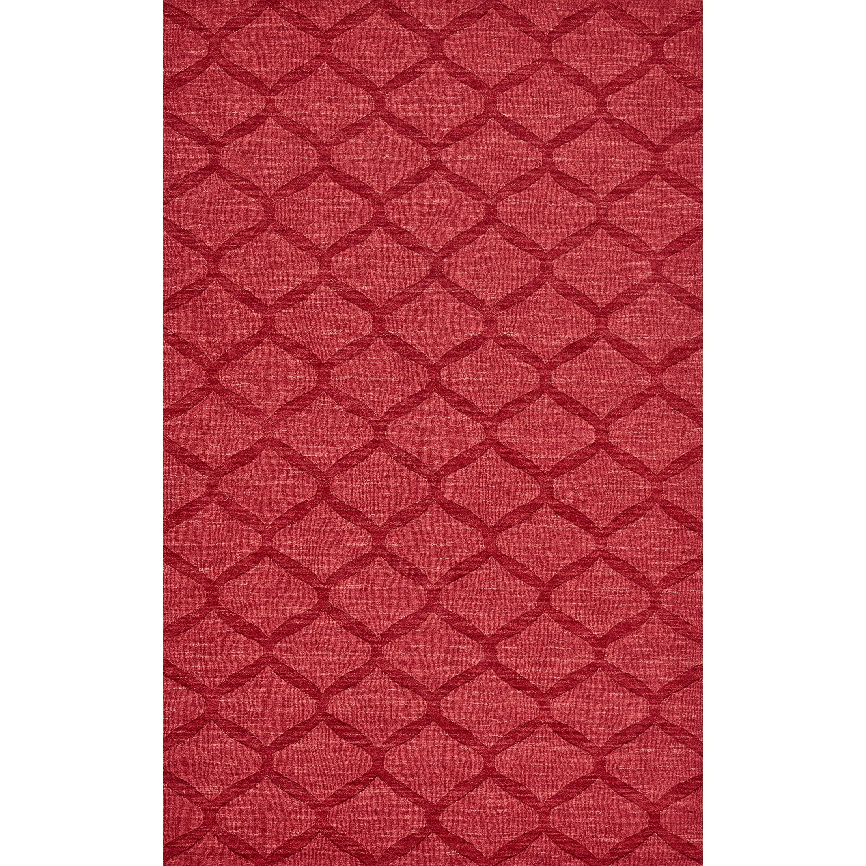 Soma Red 8' X 11' Area Rug by Feizy Rugs at Sprintz Furniture