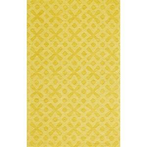 """Yellow 3'-6"""" x 5'-6"""" Area Rug"""