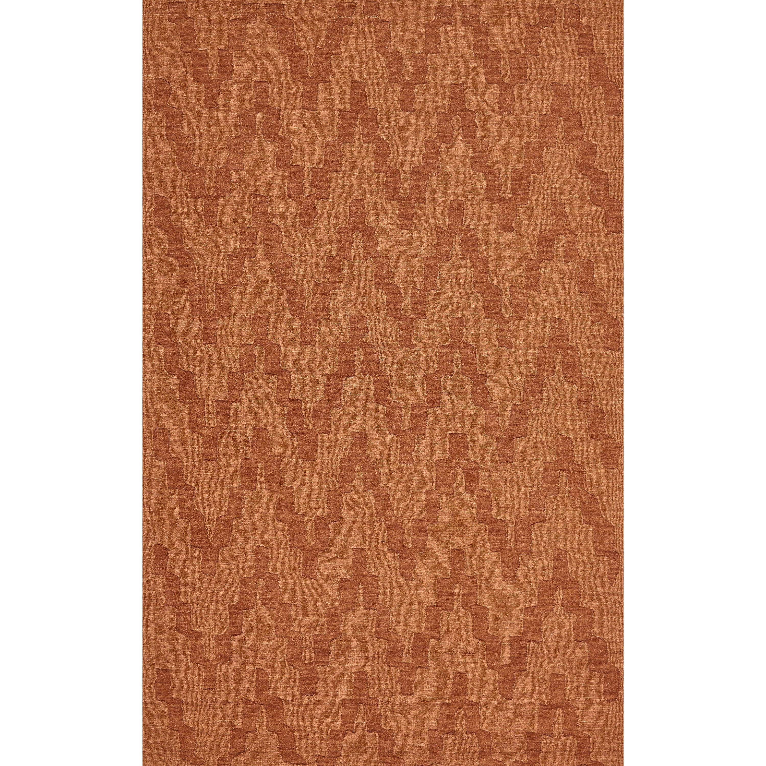Soma Orange 5' x 8' Area Rug by Feizy Rugs at Sprintz Furniture