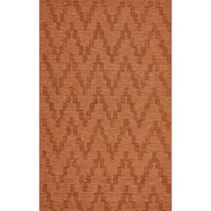 Orange 8' X 11' Area Rug