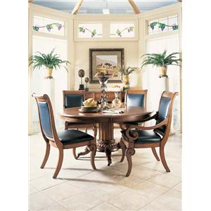 Fine Furniture Design RayLen Vineyards Round Table and Chairs