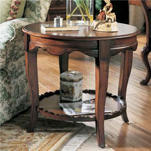 Fine Furniture Design RayLen Vineyards Round End Table