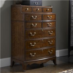 Chesapeake Tall Chest with Ten Drawers