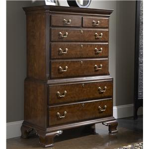 Hampton Chest on Chest with Seven Drawers