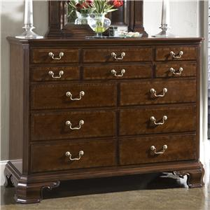 Portsmouth Entertainment Dressing Chest with Nine Drawers