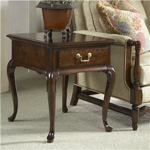 Chester End Table with One Drawer