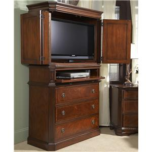Traditionally Styled Entertainment Armoire