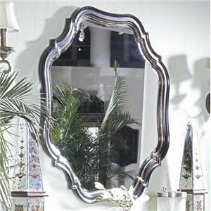 Decoratively Shaped Hanging Wall Mirror