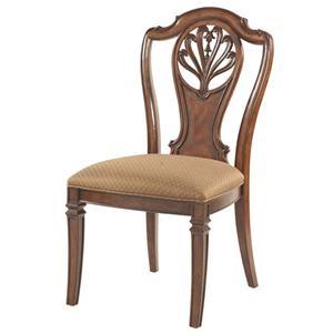 Fine Furniture Design Antebellum Splat Back Side Chair