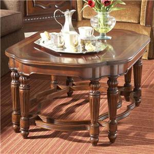 Fine Furniture Design Antebellum Rectangular Cocktail Table