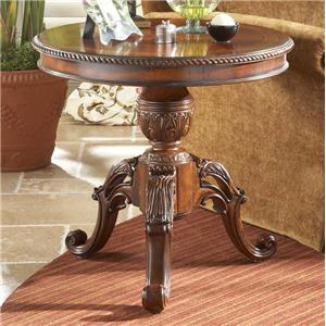 Decorative Round End Table