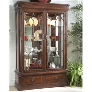 Fine Furniture Design Antebellum Display Cabinet