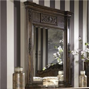 Traditional Mirror with Hand Carved Detailing