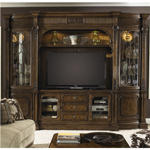 Traditional Entertainment Center Wall Unit