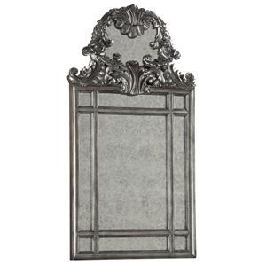 Vignolo Mirror with Rococo-Style Carving