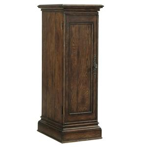 Dining Table Leaf Storage Cabinet with Plinth Base