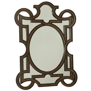 Mirror with Geometric Frame Design