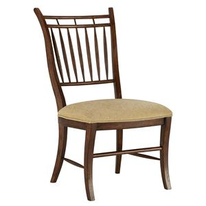 Spindle Dining Side Chair with Arrow Back