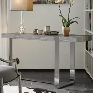 Talia Console with Metal Base