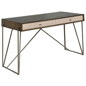Etta Writing Desk with Metal Base