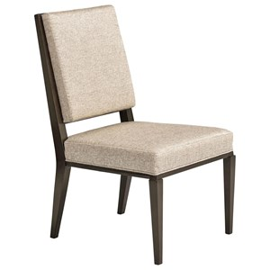 Spirales Upholstered Dining Side Chair