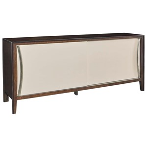 La Credence Dining Credenza with Sliding Doors