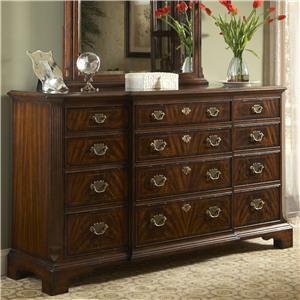12 Drawer Dresser with Jewelry Tray