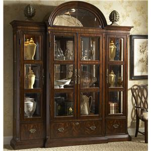 Curio China with Crown